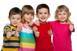 dzieci po terapii u psychologa